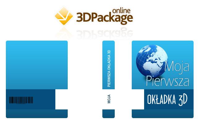 Generator online okładek 3D