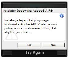 Instalacja Adobe AIR - Prezi Desktop