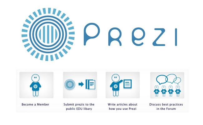 Portal społecznościowy użytkowników Prezi: Prezi U