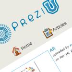prezi u - portal społecznościowy użytkowników aplikacji prezi