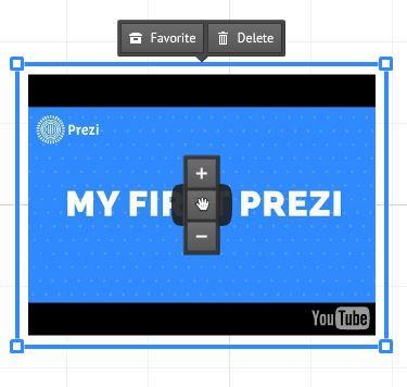 YouTube w Prezi