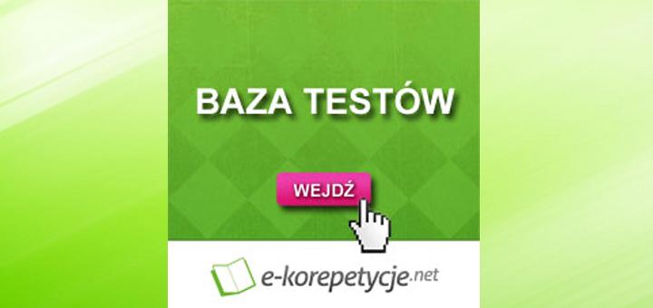 E-korepetycje.net udostępnia bazę testów językowych