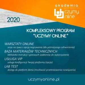 Akademia Uczymy Online - twórz kursy na własnej platformie edukacyjnej